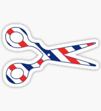 Barber Scissors Sticker