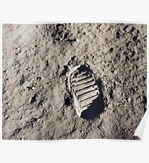 First Step on the Moon Poster