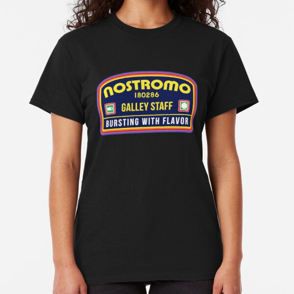 Nostromo Galley Staff (Alien Xenomorph Morale Patch) Classic T-Shirt