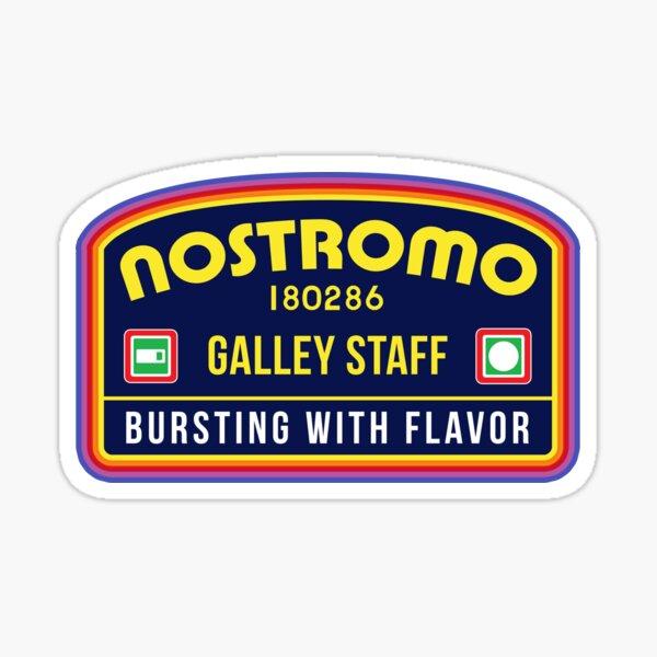 Nostromo Galley Staff (Alien Xenomorph Morale Patch) Sticker