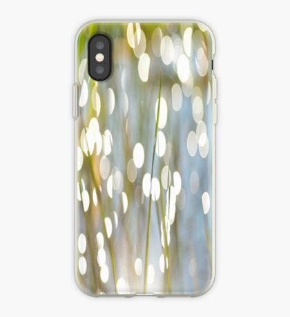 Grass Bokeh iPhone Case