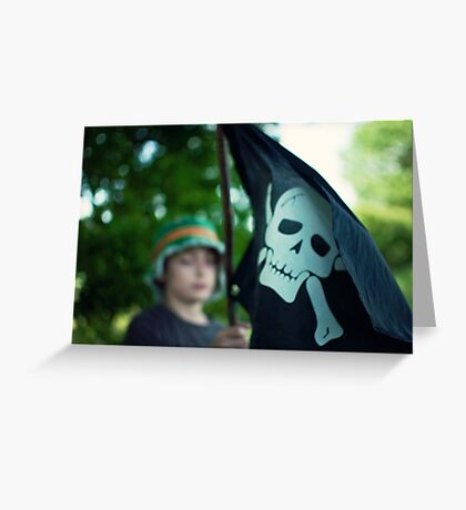 In search of the Jolly Roger Greeting Card