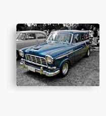 Blue FC Holden Station Wagon Canvas Print