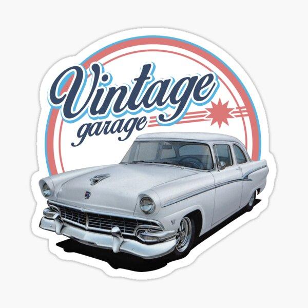 Vintage 1950's Garage Sticker