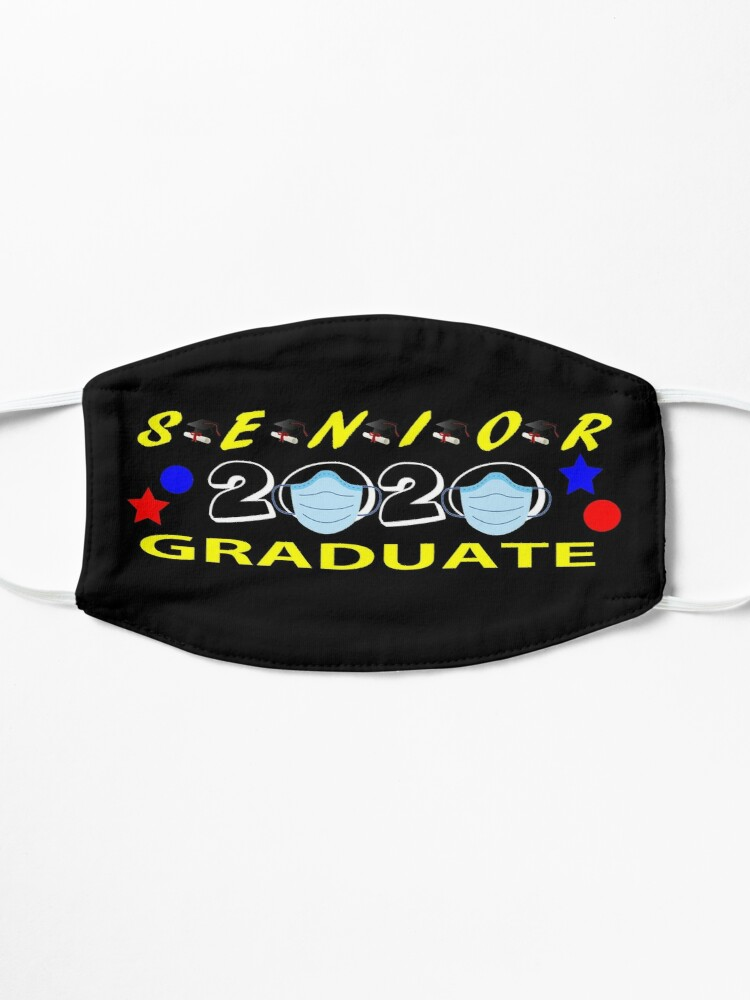 Alternate view of Senior 2020 Graduate Design 4 Mask