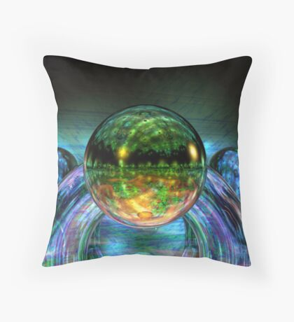 Multiple Reflections Throw Pillow