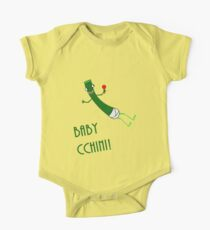 Baby Cchini (baby zucchini) One Piece - Short Sleeve