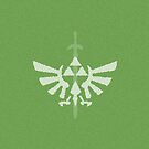 Triforce Minimalist Green by isabelgomez