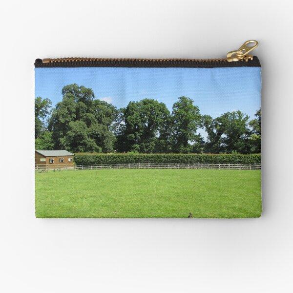 Merch #73 -- Field - Shot 3 (Hadrian's Wall) Zipper Pouch