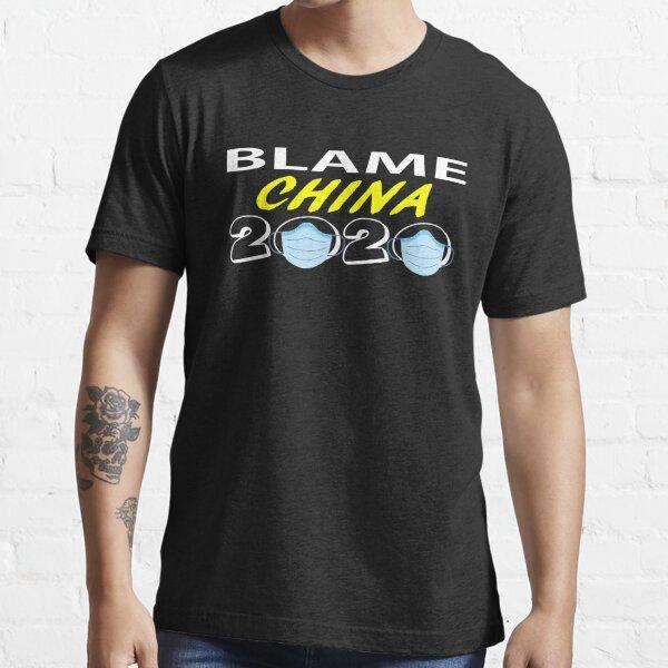 Blame China Design Essential T-Shirt
