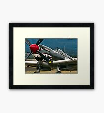 Spitfire Close up and personal Framed Print