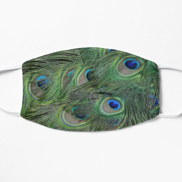 Peacock Feathers, As Is Mask