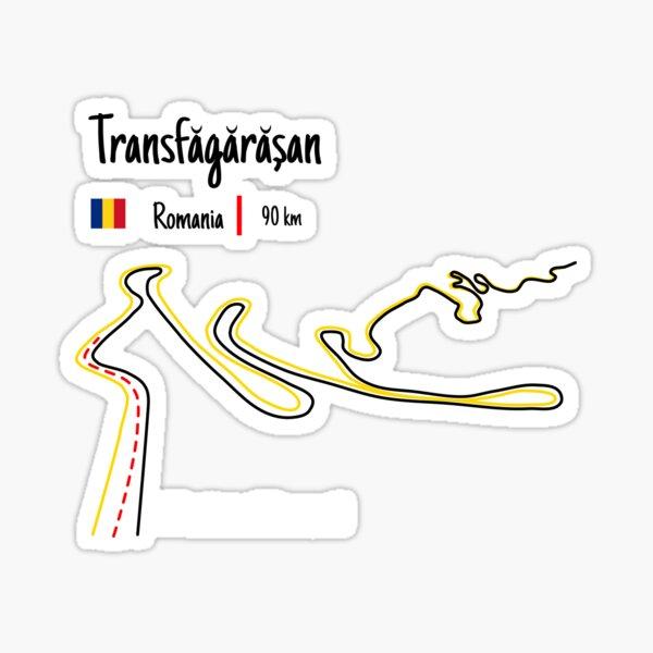 Transfagarasan Highway - Romania Sticker
