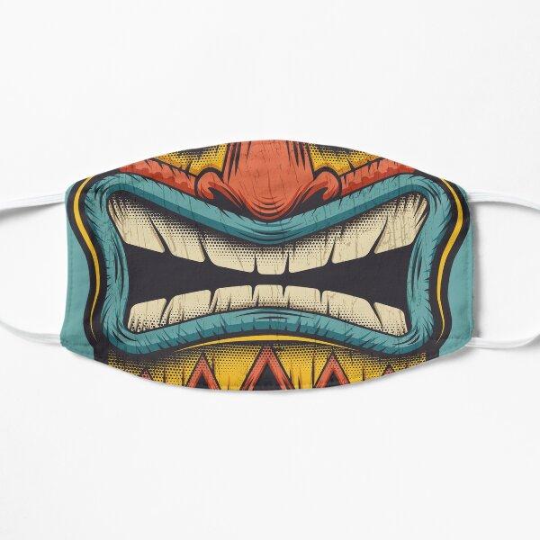 Totem masque tribal Tiki Masque sans plis