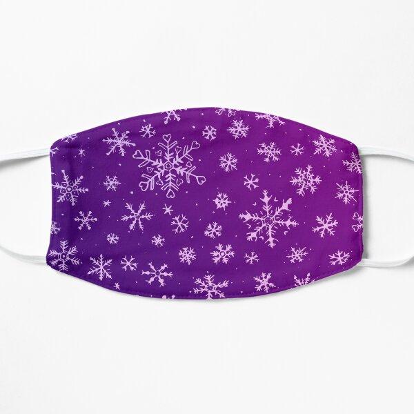 Purple Snowflakes Mask