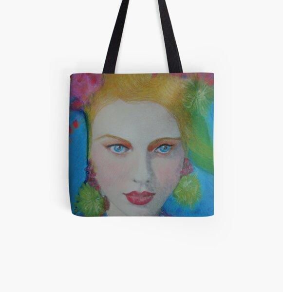 """""""Vogue Vixen"""" All Over Print Tote Bag"""