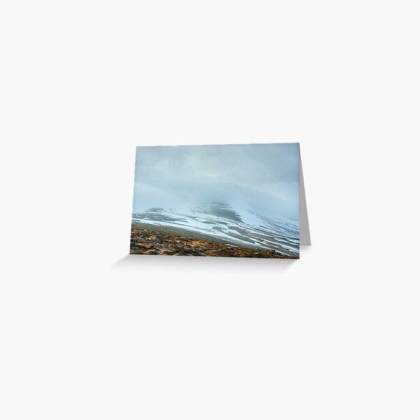 Cairngorm..Lost In The Clouds Greeting Card