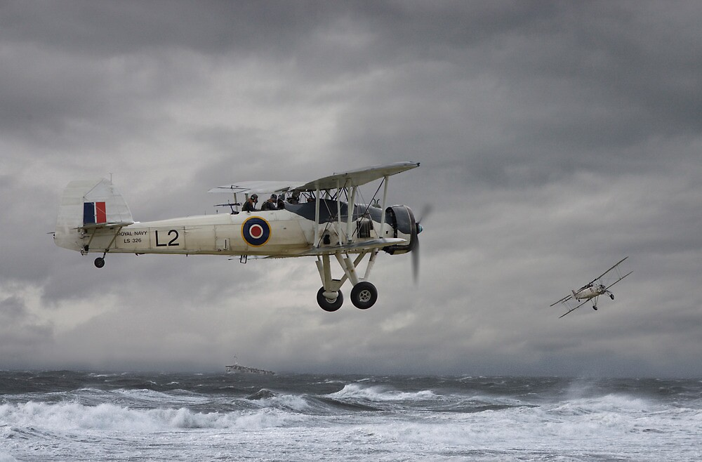 Quot Fairey Swordfish Hide And Seek Quot By Pat Speirs Redbubble