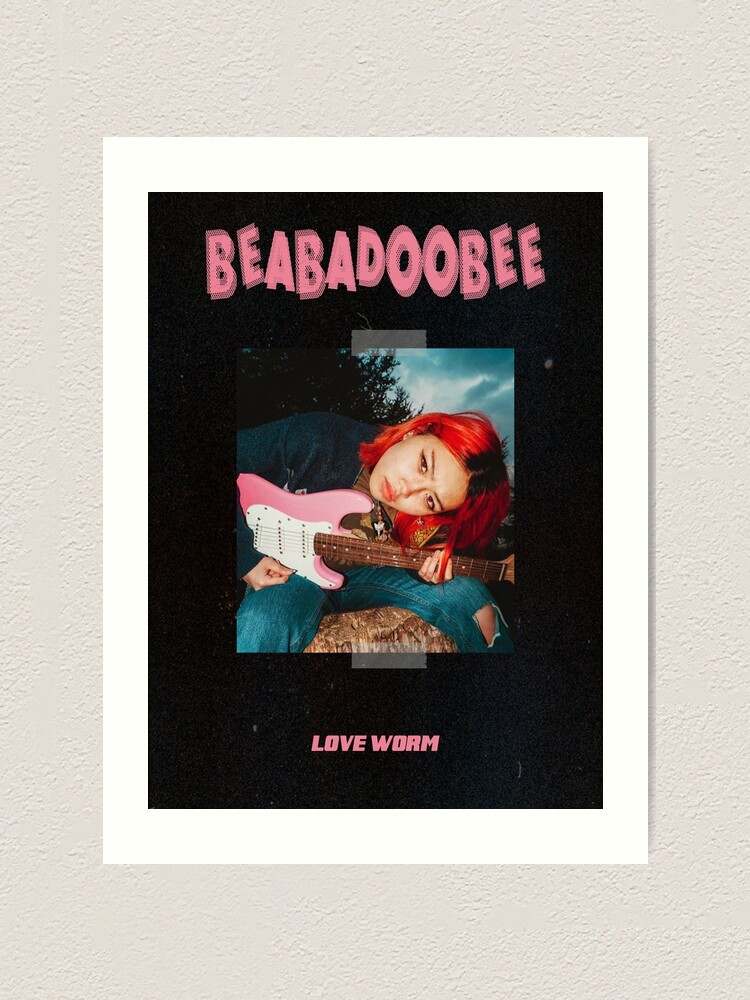 Alternate view of Beabadoobee Art Print