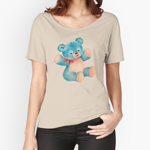 Villanelle Killing Eve teddy bear  Relaxed Fit T-Shirt