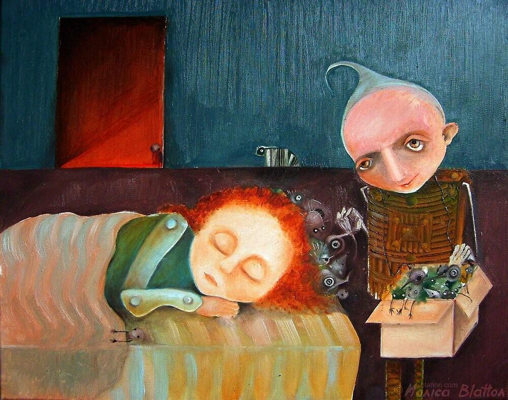 Bad Dreams Catcher by Monica Blatton
