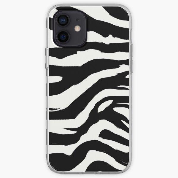 zebra print iPhone Soft Case