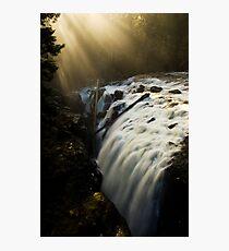 Englishman Falls Vancouver Island Photographic Print