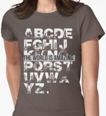 THIS WORLD IS AMAZING. Women's Fitted T-Shirt