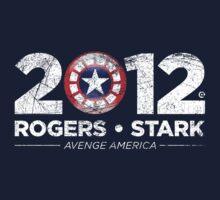Vote Rogers & Stark 2012 (White Vintage)