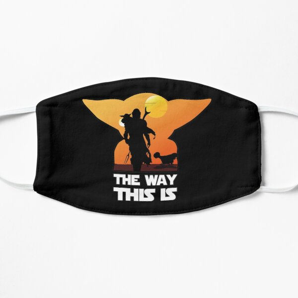 This is the Way Flat Mask