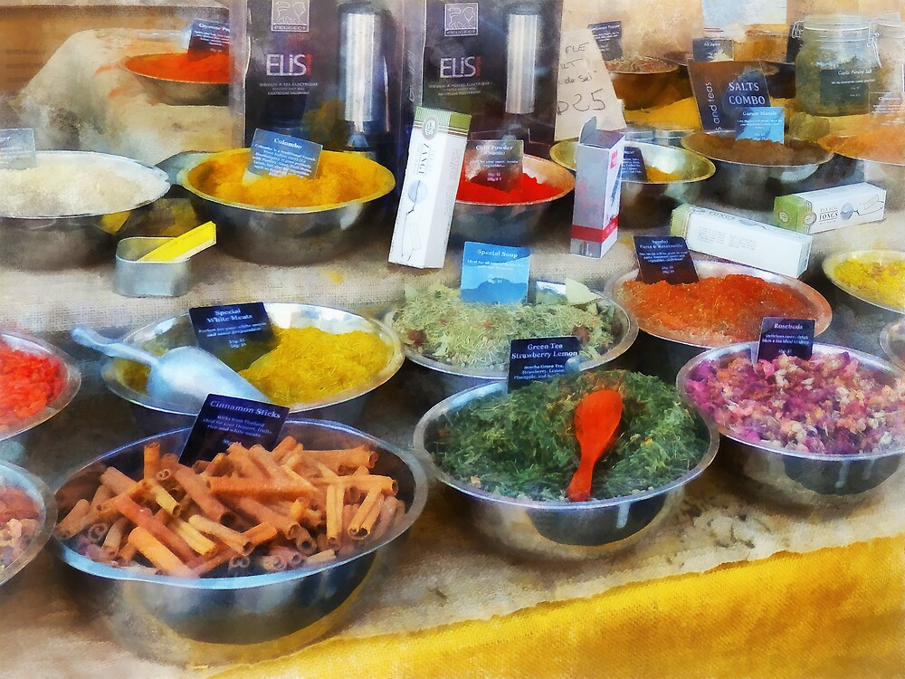Spice Stand by Susan Savad