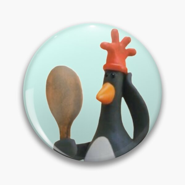 Wallace and gromit Feathers McGraw penguin  Pin
