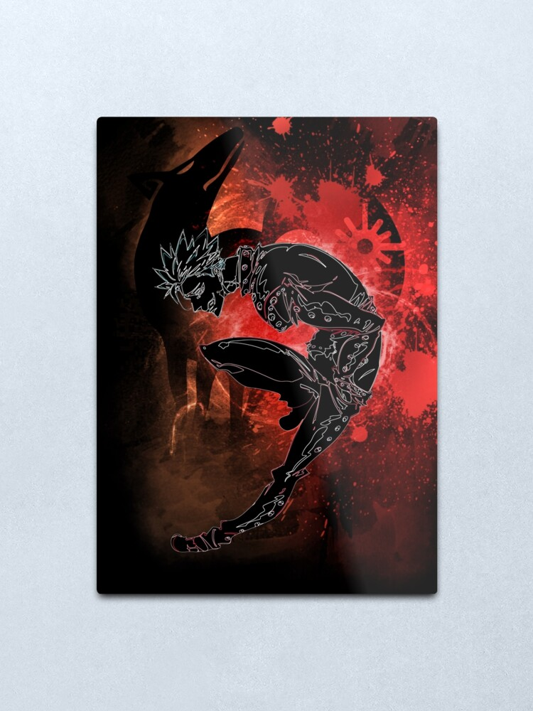 Alternate view of Greed Awakening Metal Print