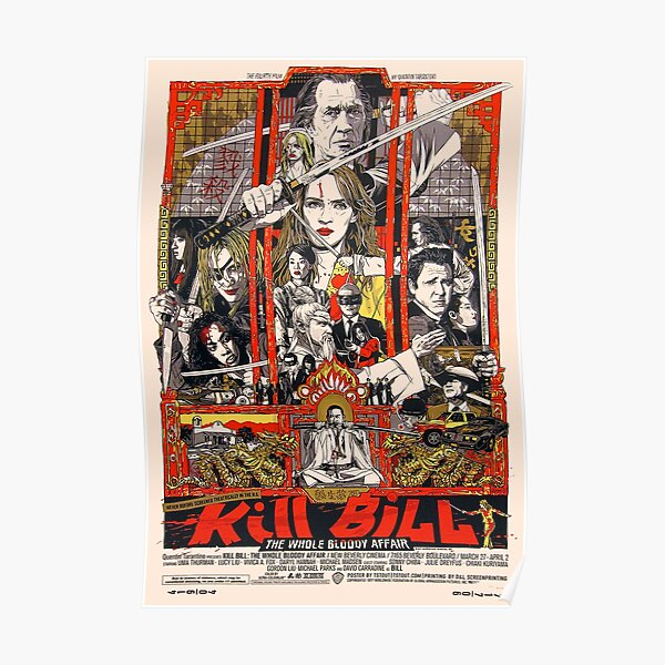 Kill The Whole Bloody Affair  Poster