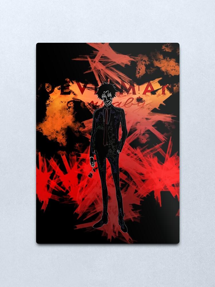 Alternate view of Devilman awakening Metal Print