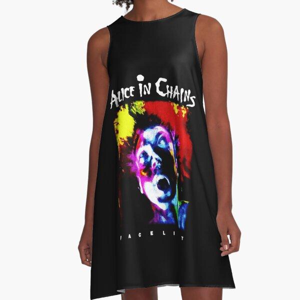 Best Music Rock Heavy Metal Most Popular A-Line Dress