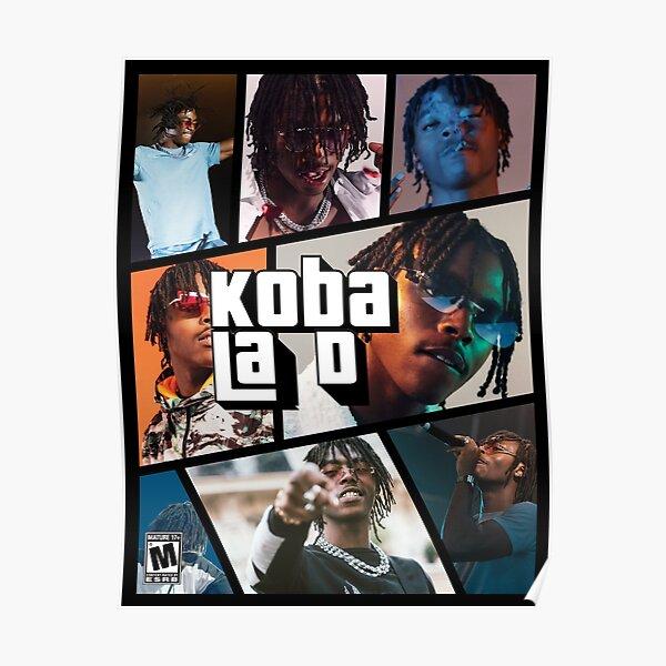 Koba La D GTA V Rap francés Póster