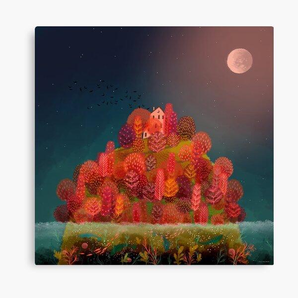 Autumn Island Canvas Print