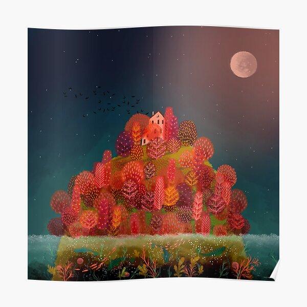 Autumn Island Poster