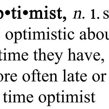 Tidsoptimist by Marialeones
