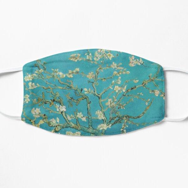 HD Vincent Van Gogh Flores de almendro Mascarilla plana