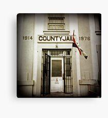 County Jail (Astoria #12) Canvas Print