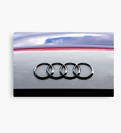 German Reflections Canvas Print