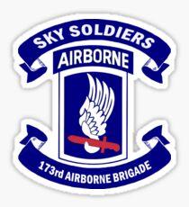 173rd Airborne Brigade Combat Team Crest Sticker