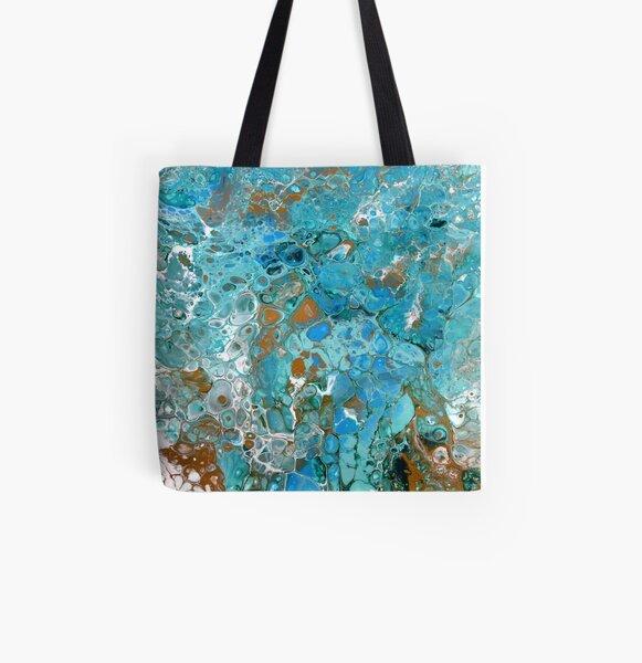 Pebble Beach All Over Print Tote Bag