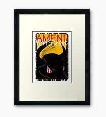 Amend Wall Street  - Taurus Framed Print
