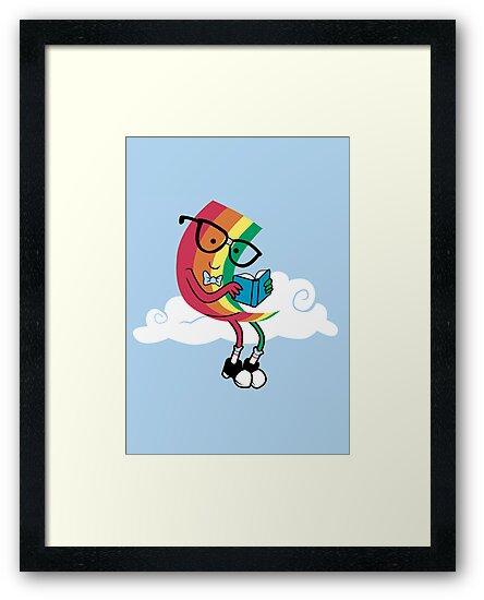 Reading Rainbow by sponzar