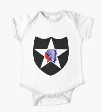 2nd Infantry Division Logo One Piece - Short Sleeve
