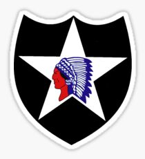 2nd Infantry Division Logo Sticker