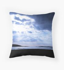 Carn Strand, Ardara, Co. Donegal Throw Pillow